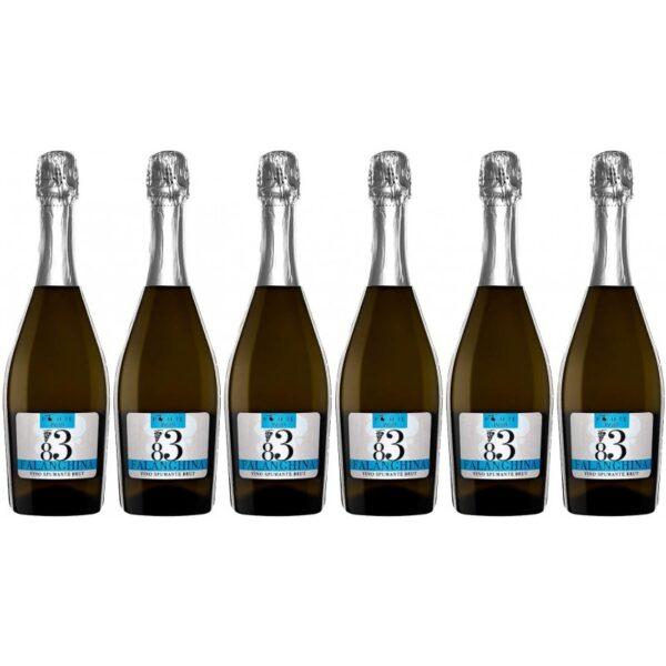confezione 6 bottiglie falanghina spumante brut