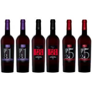 confezione vino 6 bottiglie aglianico primitivo piedirosso